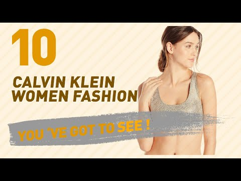 Calvin Klein Bras // New & Popular 2017