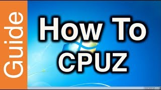 How to submit a CPU-Z validation at HWBOT