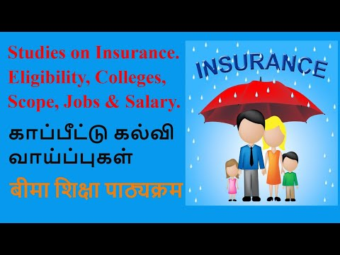 Studies On Insurance, Degrees, Colleges, Scope & Salary || A2R CBSE EDUCATION