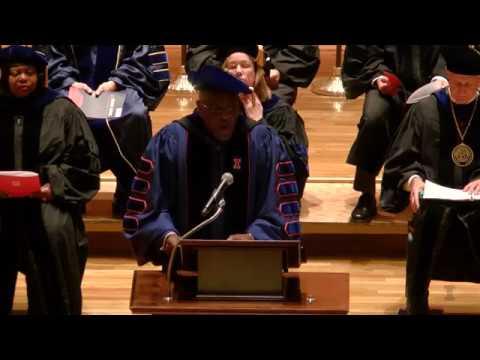 Dec. 2017 University of Illinois Doctoral Hooding Ceremony