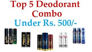 Best Deodrent Combo Under 500 In India