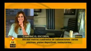 Camping El Escorial. Telemadrid: Aquí en Madrid 9 de Julio de 2014