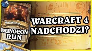 WARCRAFT 4 NADCHODZI? - ROGUE - Hearthstone Dungeon Run