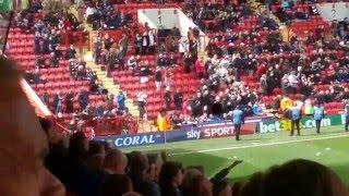 Roland Out Chants Charlton v Brighton