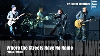 part a9 where the streets have no name u2 tutorial chorus