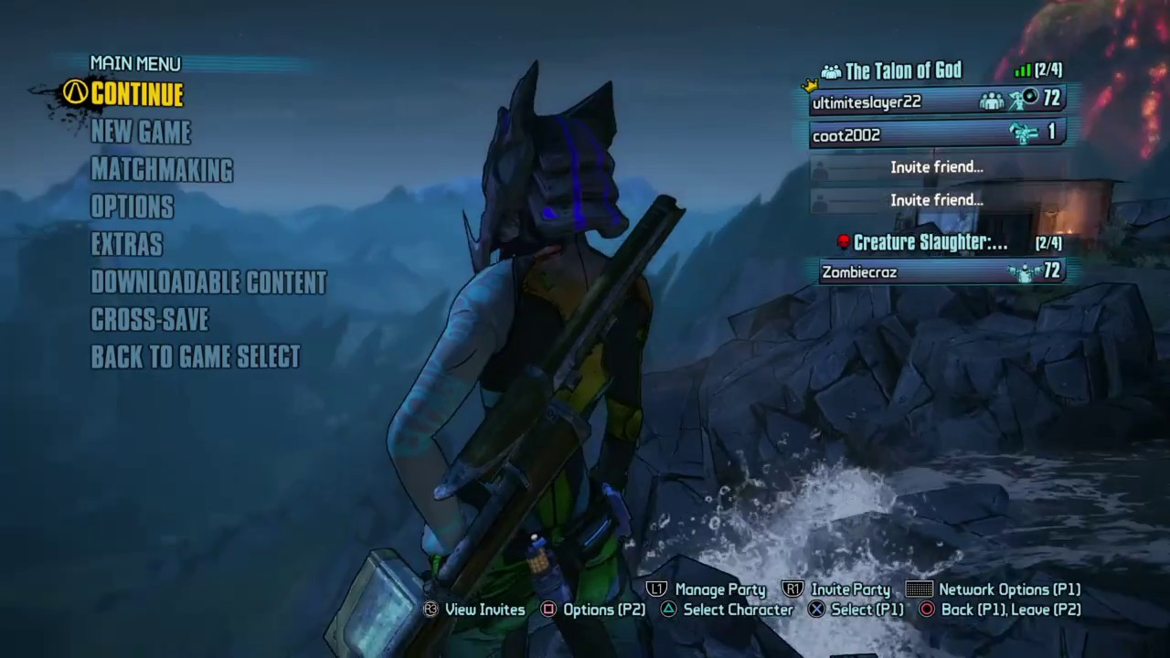 Borderlands The Handsome Collection PS4 Boosting save