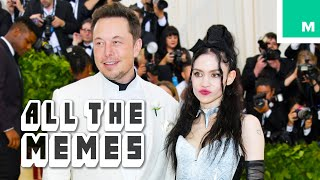 Elon Musk and Grimes Are Dating - All the Memes