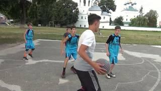Стритбол-2019. Игра 3х3 между командами Зоопарк (Путивль) и БЛАД (Шостка). / Видео
