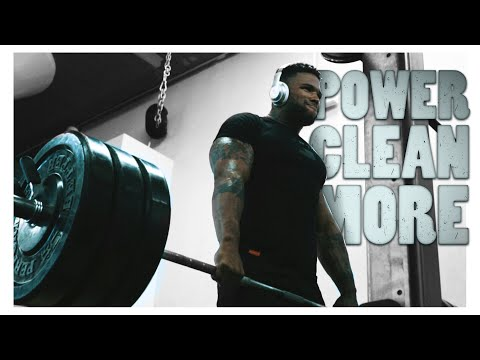 How To Power Clean More