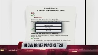 DMV offers free practice test