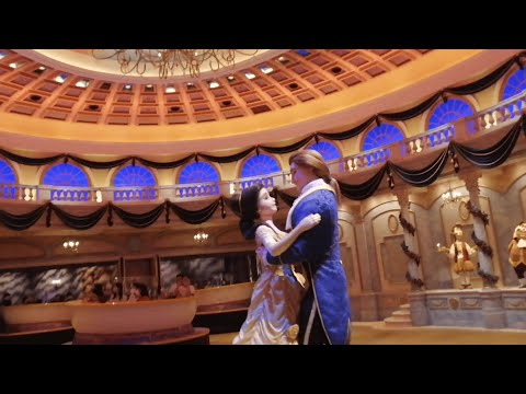 The Enchanted Tale of Beauty and the Beast at Tokyo Disneyland - FULL RIDE