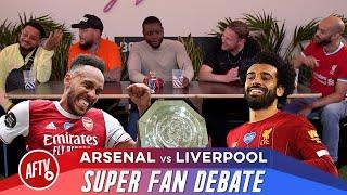 Super Fan Debate 🔥 Ft. DT & Troopz vs Drifty & AGT | Arsenal vs Liverpool (Host Joel Cheeky Sport)