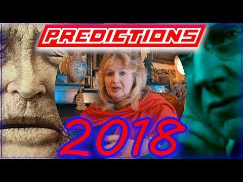Predictions 2018 - Spoiler Alert!!! (Psychic Violetta, Edgar Cayce, Baba Vanga)
