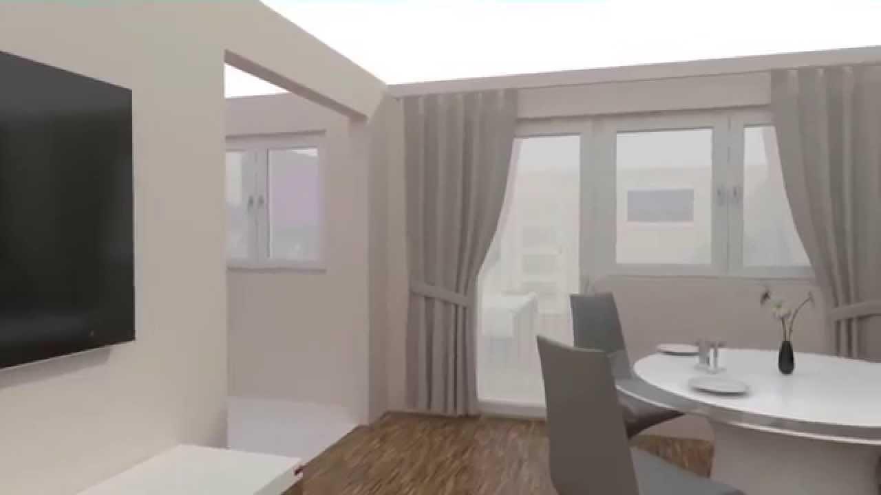 immobilien innenvisualisierung wohnung typ 2 3d grundrisse erstellen lassen youtube. Black Bedroom Furniture Sets. Home Design Ideas