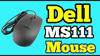 Dell MS111 USB Optical Mouse | Unboxing