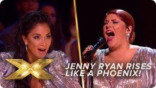 Jenny Ryan RISES Like a Phoenix   Live Week 1   X Factor: Celebrity