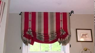 How To Design Your London Shade Valance Before Sewing