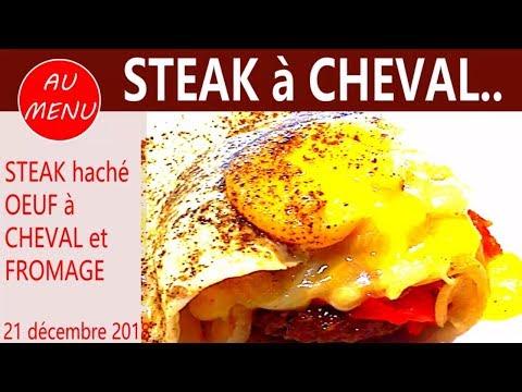 【***-steak-hachÉ-***】oeuf-À-cheval---fromage---recette-facile-rapide-#vc0020-#vs00050-#au010101