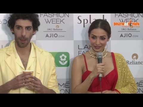 Malaika Arora Khan Interview at Lakme Fashion Show