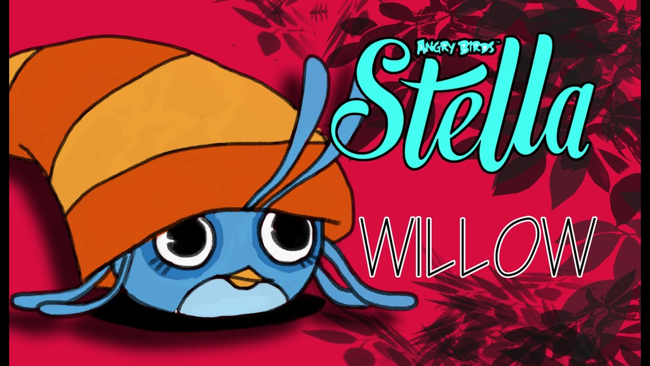 How To Draw Willow From Angry Birds Stella!