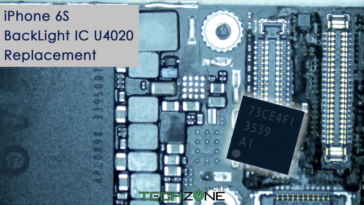 the latest e8714 b3fcd iPhone 6S BackLight IC U4020 Replacement