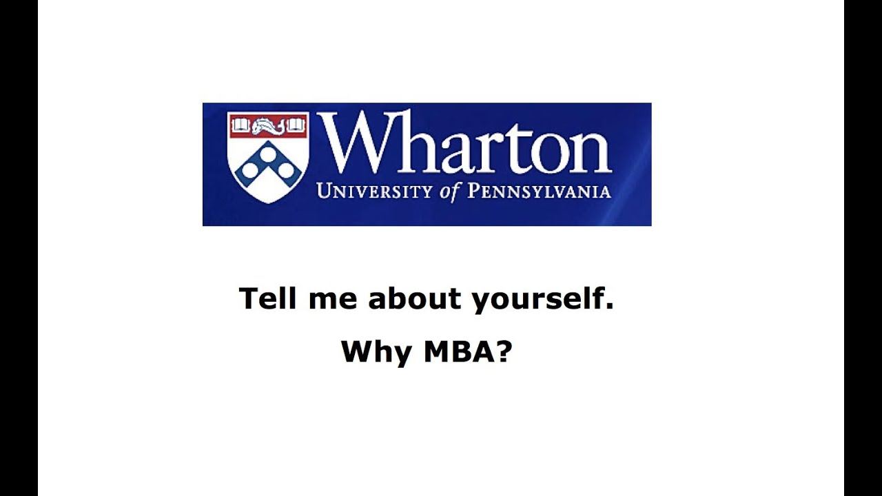 Answering Tell us about yourself: MBA Admission Interview (10-20-30-40 Rule)
