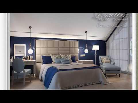 Эскизный проект спальной комнаты Всеволожск