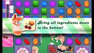 Candy Crush Saga Level 409 walkthrough (no boosters)