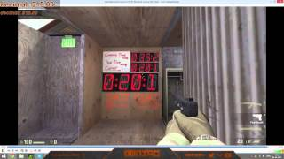 World record in Valve CS:GO Weapon Course (WITHOUT TIMESCALE!)