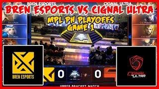 Nagtapat ang Dalawang Topdogs! Bren Esports vs Cignal Ultra | MPL PH Season 2 Playoffs