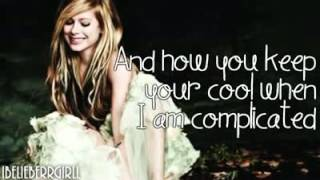 Avril Lavigne   I Love You With Lyrics   YouTube