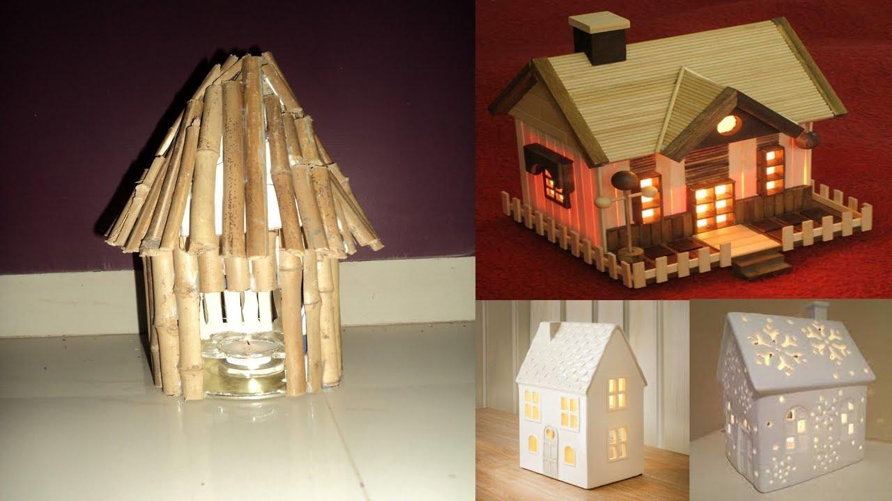 Diy Art Attack 1 Hour Bamboo Stick Lamp Home Decor Idea