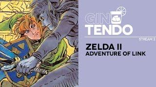 Gintendo stream #02: Zelda II [NES]