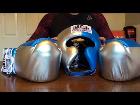 ZARAGOZA BOXING GLOVES AND HEADGUARD REVIEW