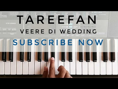 Tareefan Piano Cover   Veere Di Wedding   Qaran Ft. Badshah   Kareena Kapoor   Sonam Kapoor