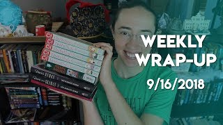 Weekly Wrap-Up | September 16, 2018 #booktubesff