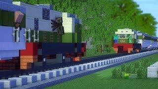 Download Video Minecraft Tragedi Bintaro Train Crash Animation MP3 3GP MP4