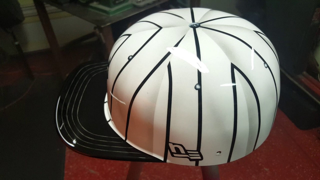 Mike S Pro Lids Helmet Airbrushed By Edward Martinez