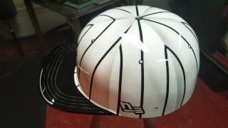 Mike39;s Pro Lids helmet airbrushed by Edward Martinez airplayairbrush