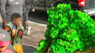 FUNNY BUSHMAN VIDEO AT SUPER BOWL 53