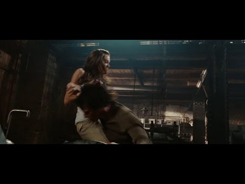 Angelina Jolie in Wanted 2008 | Fox brutally beat poor Wesley (movie scene 7|9)