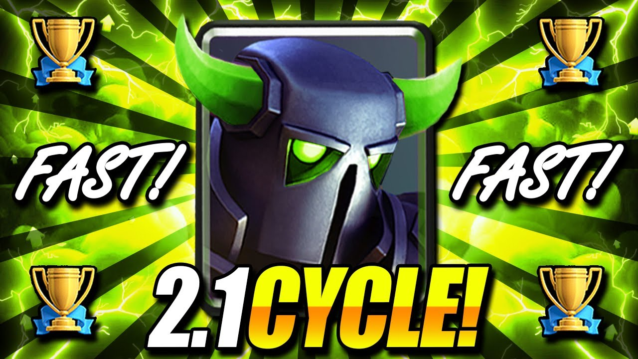 FASTEST PEKKA CYCLE DECK EVER!!! 2.1 CYCLE!! THIS IS INSANE!