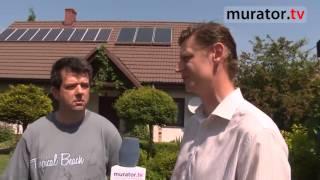 Dom z bateriami słonecznymi - cel: produkcja i sprzedaż prądu