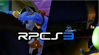 PS3 Emulator-RPCS3-LLVM-OpenGL | Sly Cooper: Thieves in Time-Demo | #1