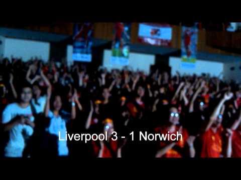 Liverpudlian Vietnam in Norwich 2 - 3 Liverpool (20_4_2014)