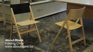 Making The About:blank Folding Chair