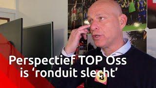 'Perspectief TOP Oss is ronduit slecht', zegt coach Klaas Wels