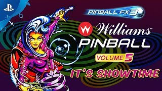 Pinball FX3 - Williams Pinball: Volume 5 Launch Trailer | PS4