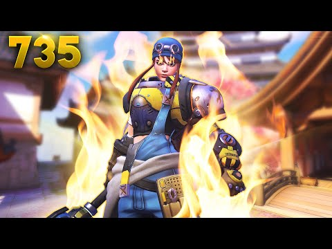 SHE'S NOT BROKEN, SHE'S A SURVIVOR!!   Overwatch Daily Moments Ep.735 (Funny and Random Moments) thumbnail