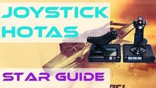 Star Guides | Best Joysticks & HOTAS | Star Citizen